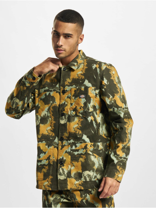 Dickies Kauluspaidat Crafted Camo camouflage