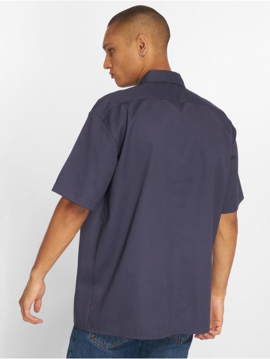 Dickies Košele Shorts Sleeve Work modrá
