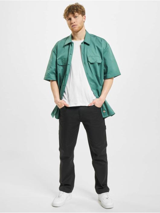 Dickies Košile Short Sleeveork zelený