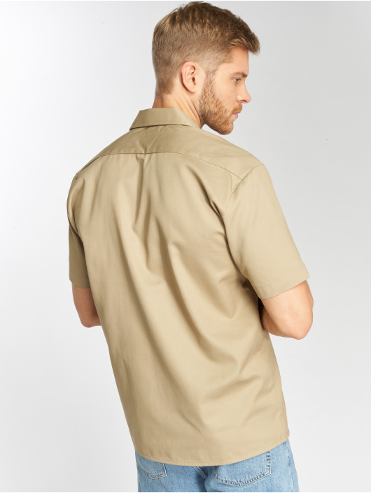 Dickies Koszule Shorts Sleeve Work khaki