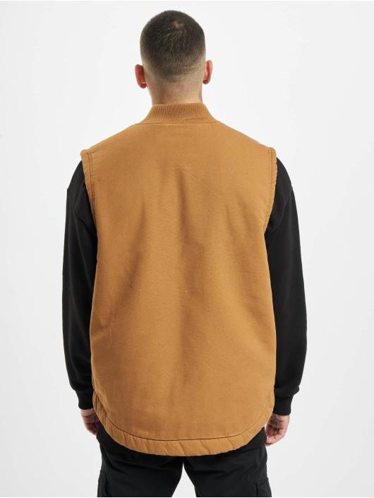 Dickies Kurtki przejściowe Sherpa Lined Vest brazowy