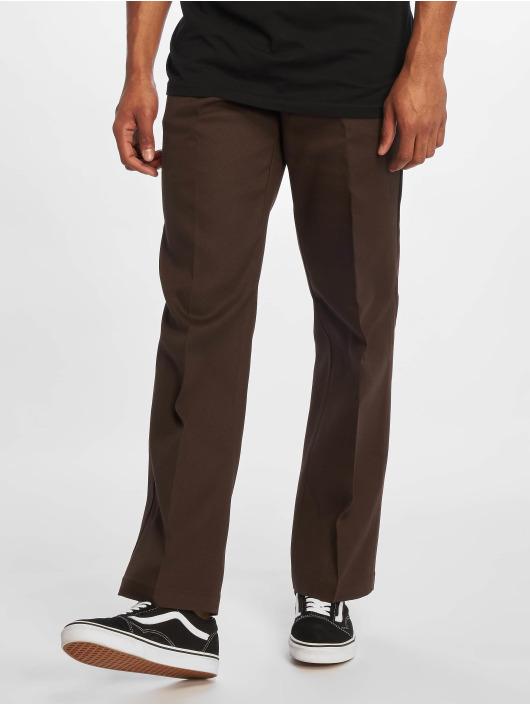 Dickies Látkové kalhoty 874 Flex hnědý
