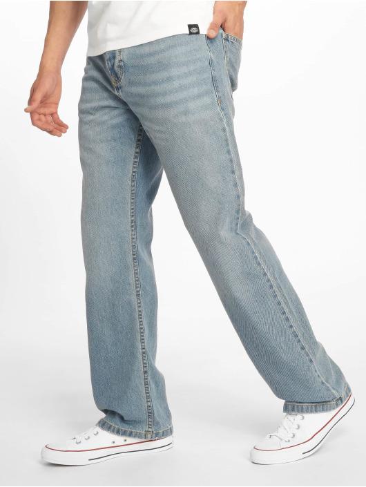 Dickies Løstsittende bukser Pensacola blå
