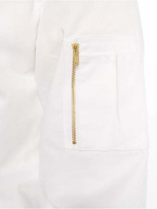 Dickies Letecká bunda Hughson Streetwear bílý
