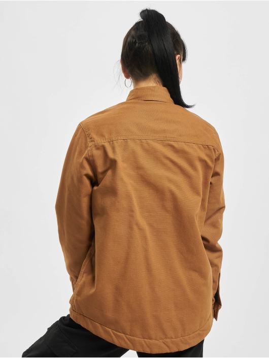 Dickies Lightweight Jacket Duck Sherpa Chore brown