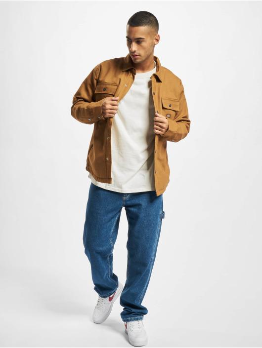 Dickies Lightweight Jacket Shacket brown