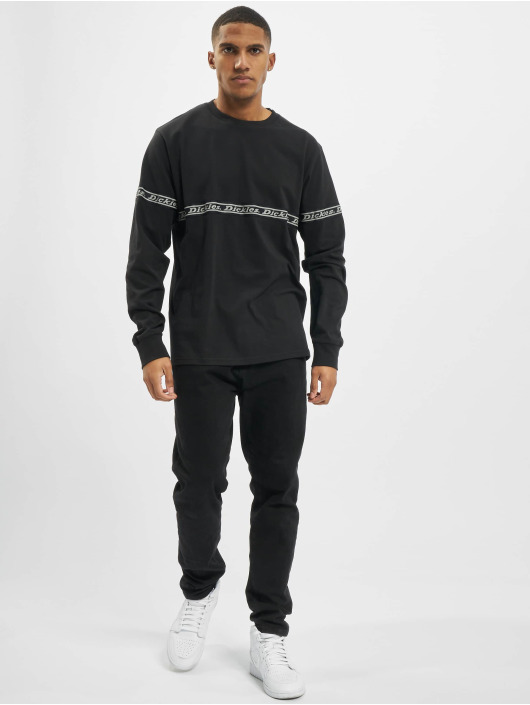 Dickies Longsleeves West Ferriday czarny
