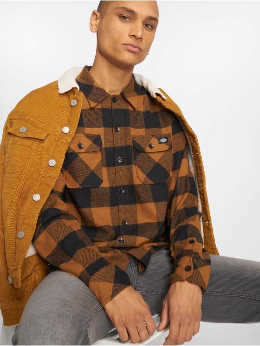 Dickies overhemd Sacramento bruin