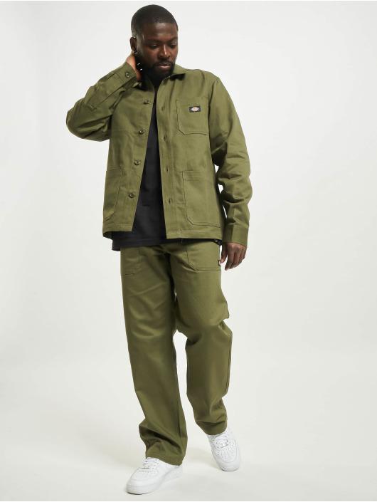 Dickies overhemd Funkley olijfgroen