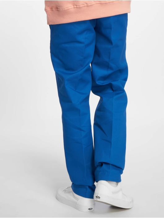 Dickies Pantalon chino WP873 Slim Straight Work bleu