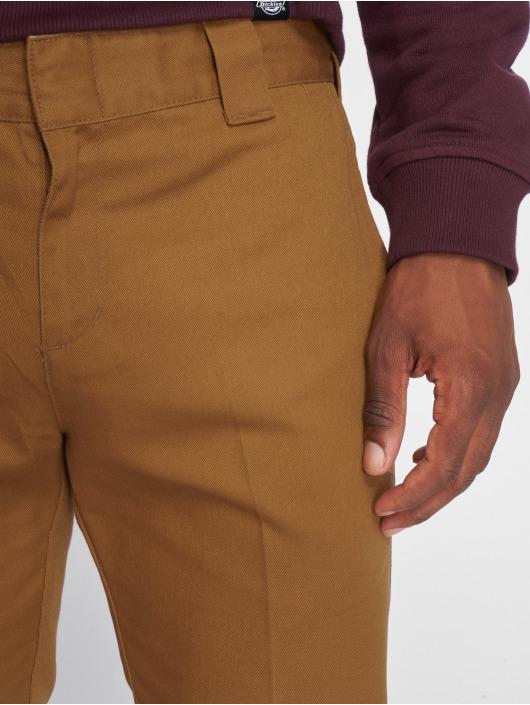 Dickies Pantalon chino Slim Fit Work brun