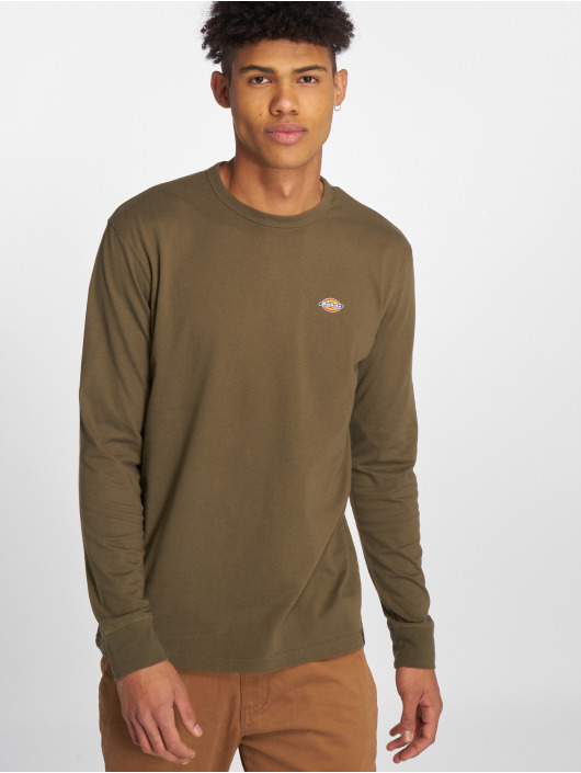 Dickies Pitkähihaiset paidat Round Rock oliivi