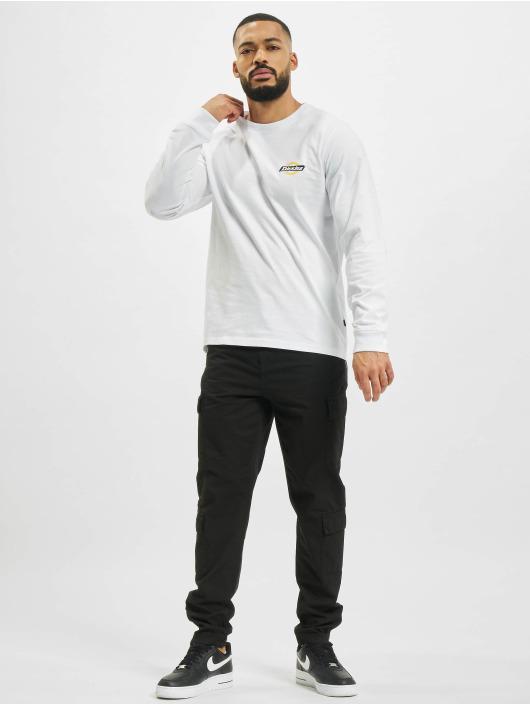 Dickies Pitkähihaiset paidat Ruston valkoinen
