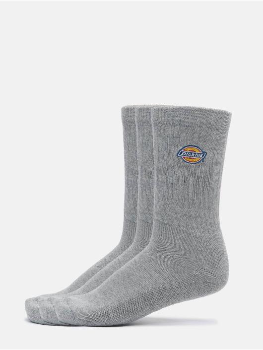Dickies Ponožky Valley Grove 3-Pack šedá