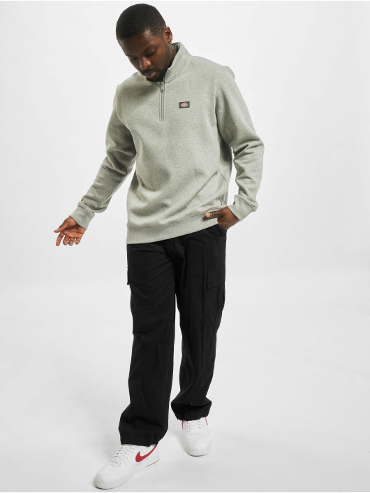 Dickies Pullover Oakport Quarter gray