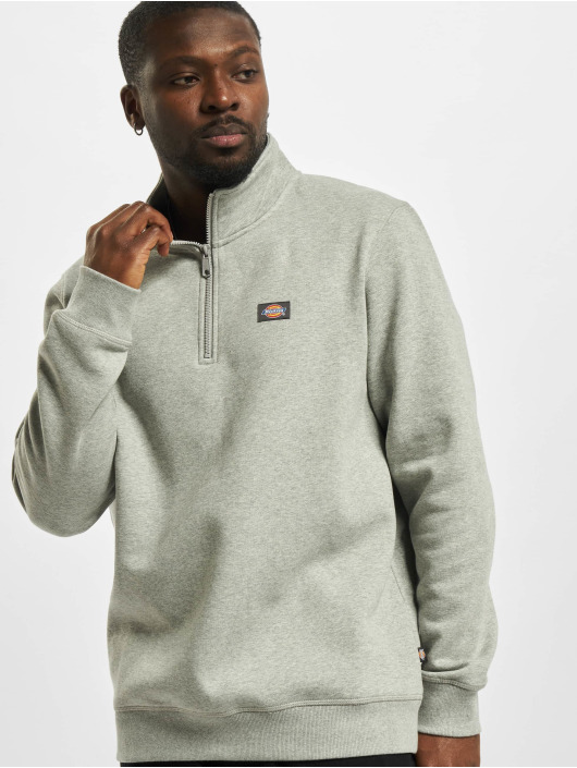 Dickies Pullover Oakport Quarter grey