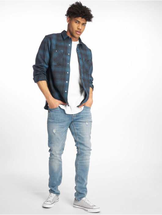 Dickies Shirt Linville blue