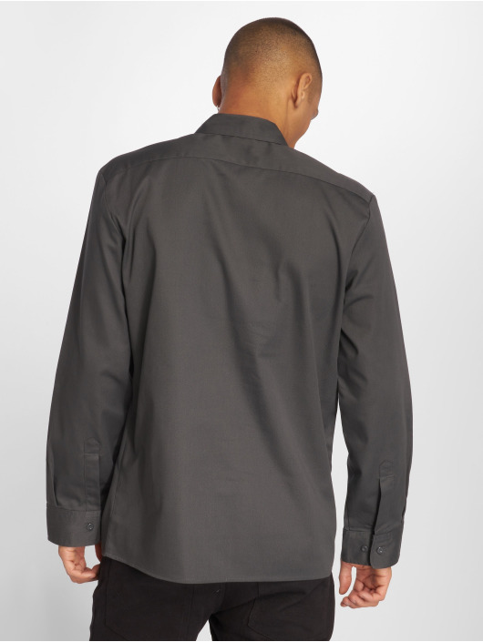 Dickies Shirt Slim Work gray
