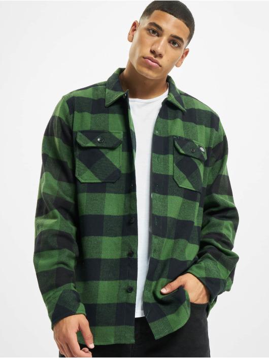 Dickies Shirt Sacramento Relaxed Long Sleeve green