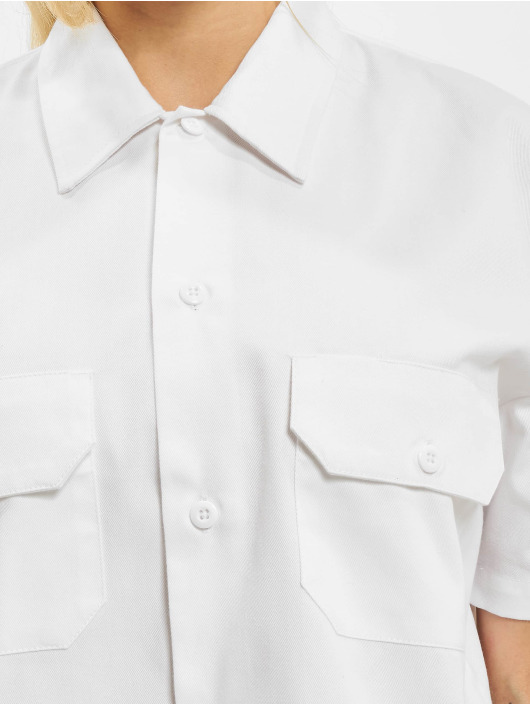 Dickies Shirt Silvern Grove white