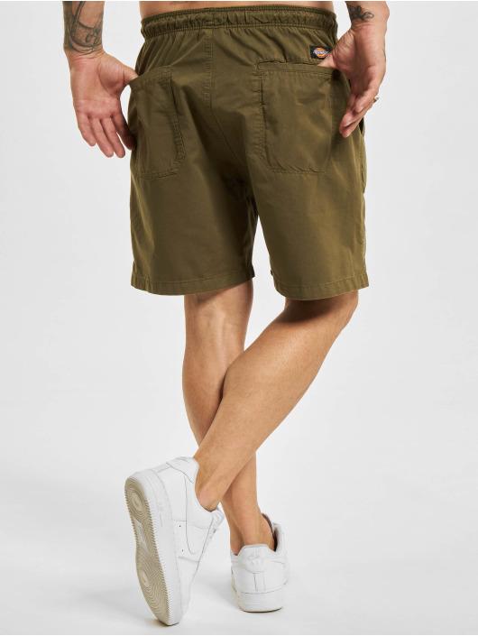 Dickies shorts Pelican Rapids olijfgroen