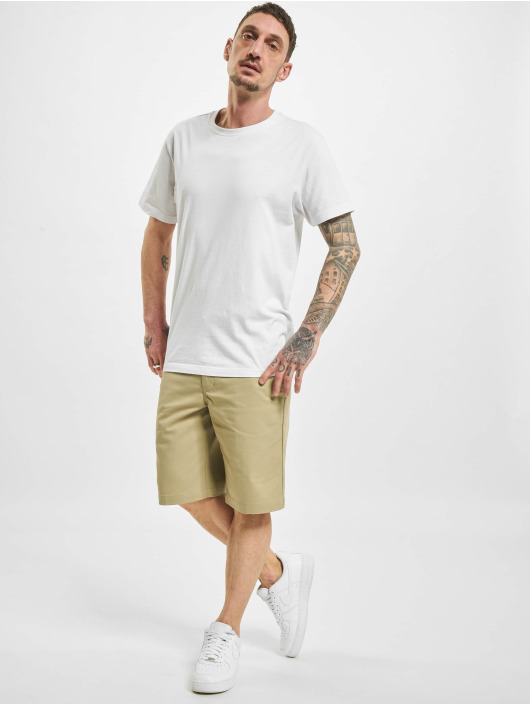 Dickies Shortsit Slim Straight Flex khakiruskea