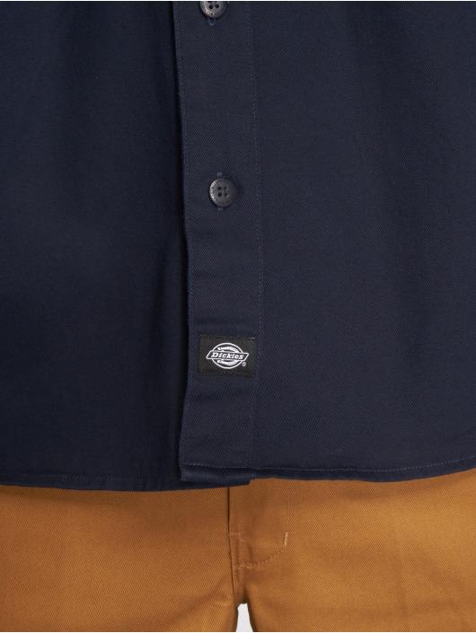 Dickies Skjorta Nelsonia blå