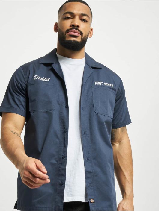 Dickies Skjorta Halma blå