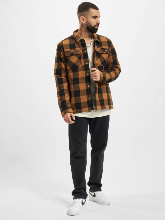 Dickies Skjorter Sherpa Lined brun