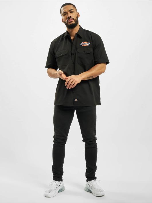 Dickies Skjorter Clintondale svart