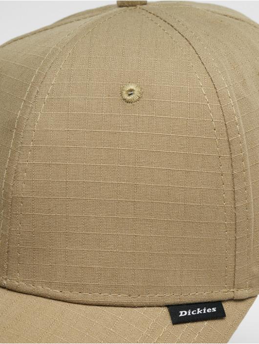 Dickies Snapback Caps Grant Town 6 Panel khakiruskea
