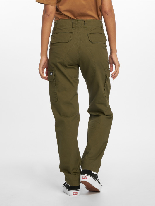 Dickies Spodnie Chino/Cargo Dickies Edwardsport Cargo Pants oliwkowy