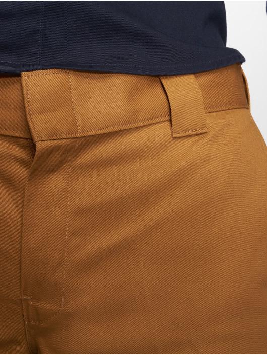 Dickies Spodnie wizytowe WP873 Slim Straight Work brazowy