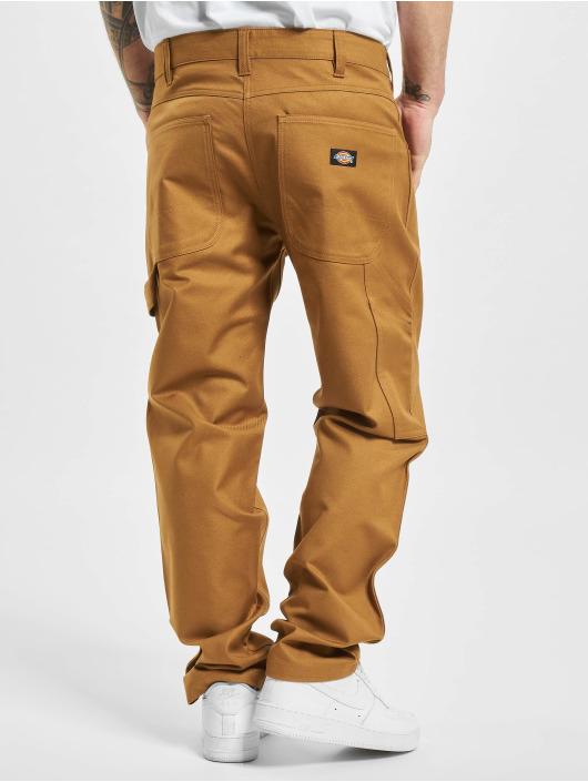 Dickies Spodnie wizytowe Fairdale Twill brazowy