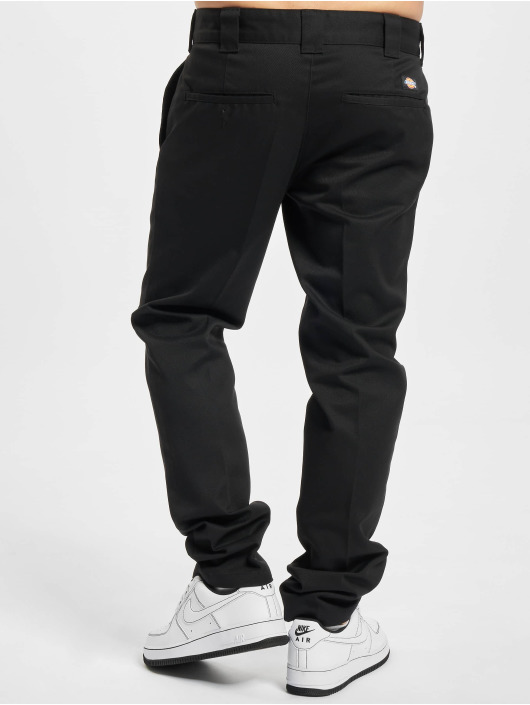 Dickies Spodnie wizytowe Slim Fit Work czarny