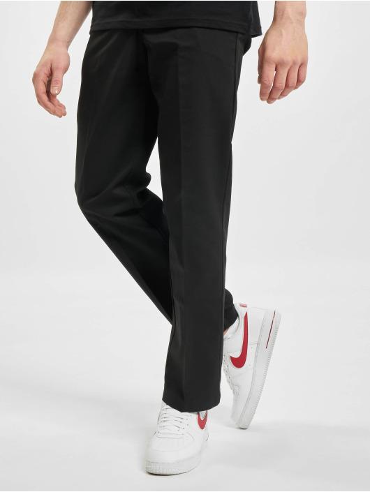 Dickies Spodnie wizytowe Slim Straightork Flex czarny