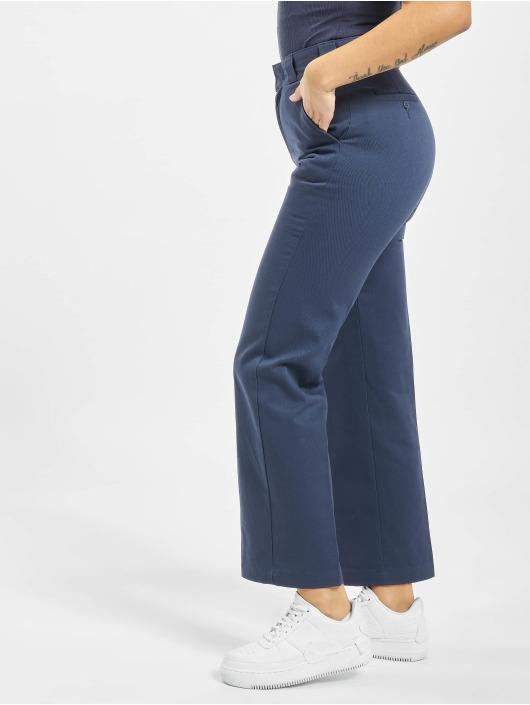 Dickies Spodnie wizytowe Elizaville niebieski
