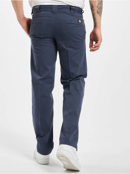 Dickies Spodnie wizytowe Vancleve Work Pant Navy Blue niebieski