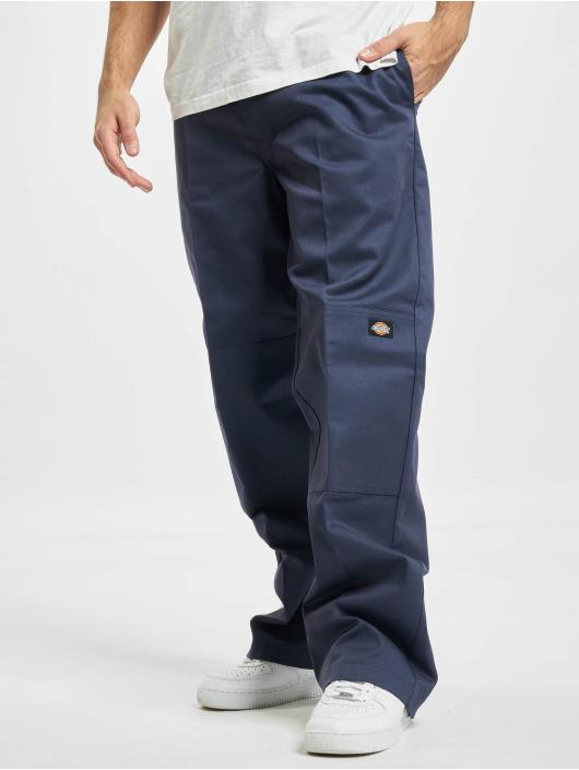 Dickies Spodnie wizytowe D/Knee niebieski