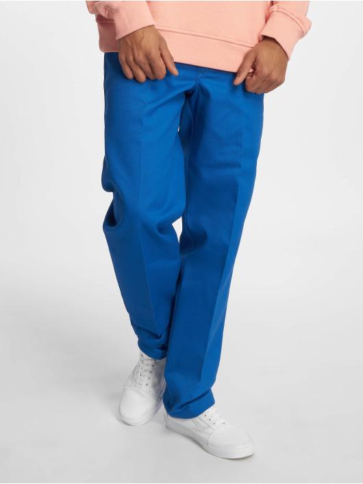 Dickies Stoffbukser WP873 Slim Straight Work blå