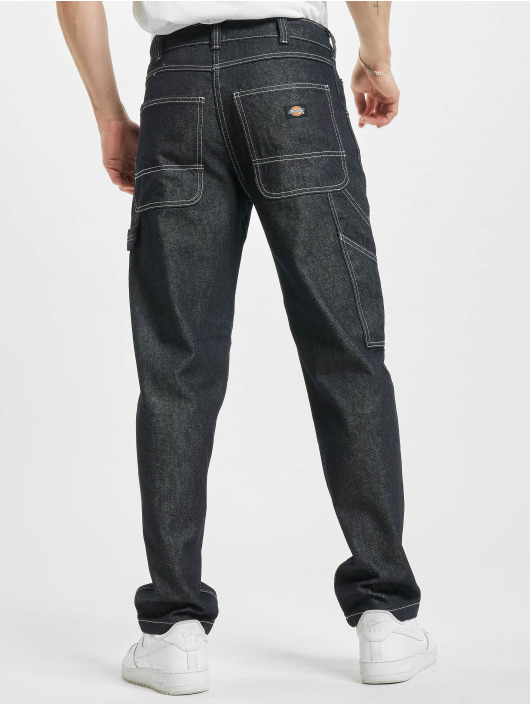 Dickies Straight Fit Jeans Garyville Denim blå