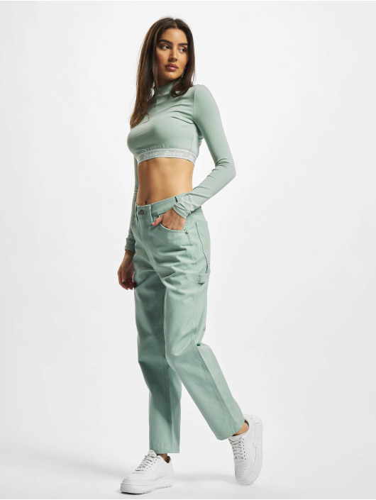 Dickies Straight Fit Jeans Carpenter grün