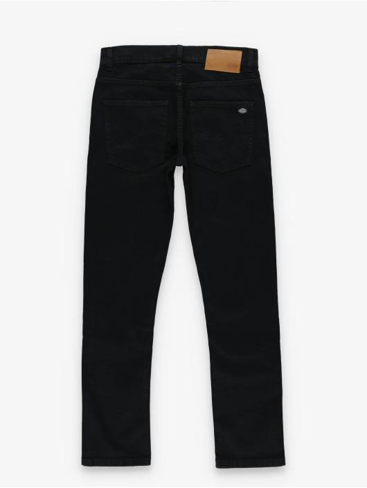 Dickies Straight Fit Jeans Rhode Island svart