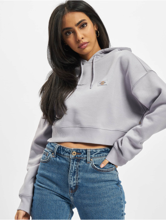 Dickies Sweat capuche Oakport Cropped pourpre