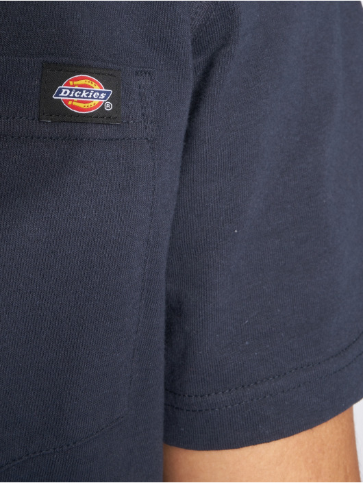 Dickies T-shirt Pocket blå