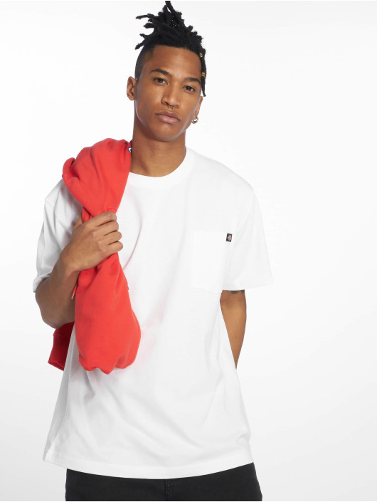 Dickies T-Shirt Pocket blanc