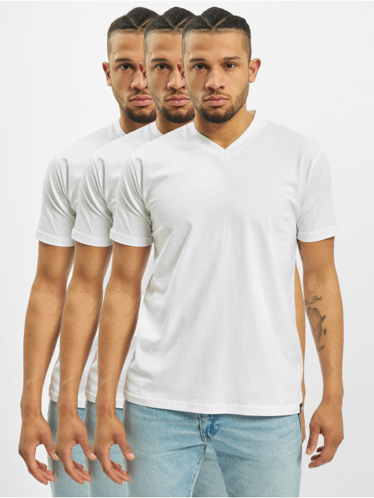 Dickies T-Shirt V-Neck 3-Pack blanc