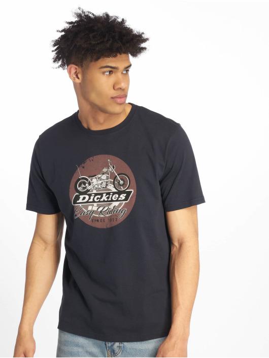 Dickies T-Shirt Middletown blau