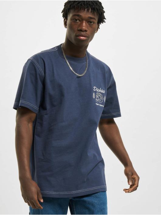 Dickies T-Shirt Halma blau