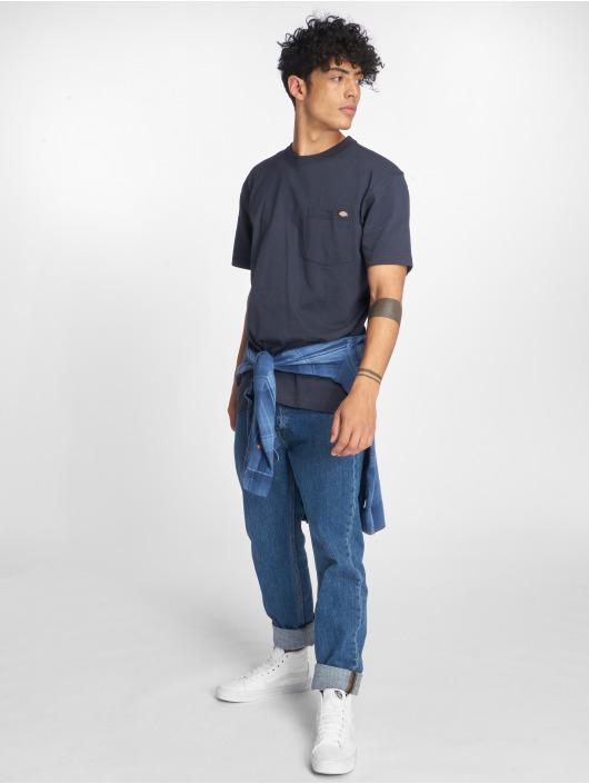 Dickies T-shirt Pocket blu